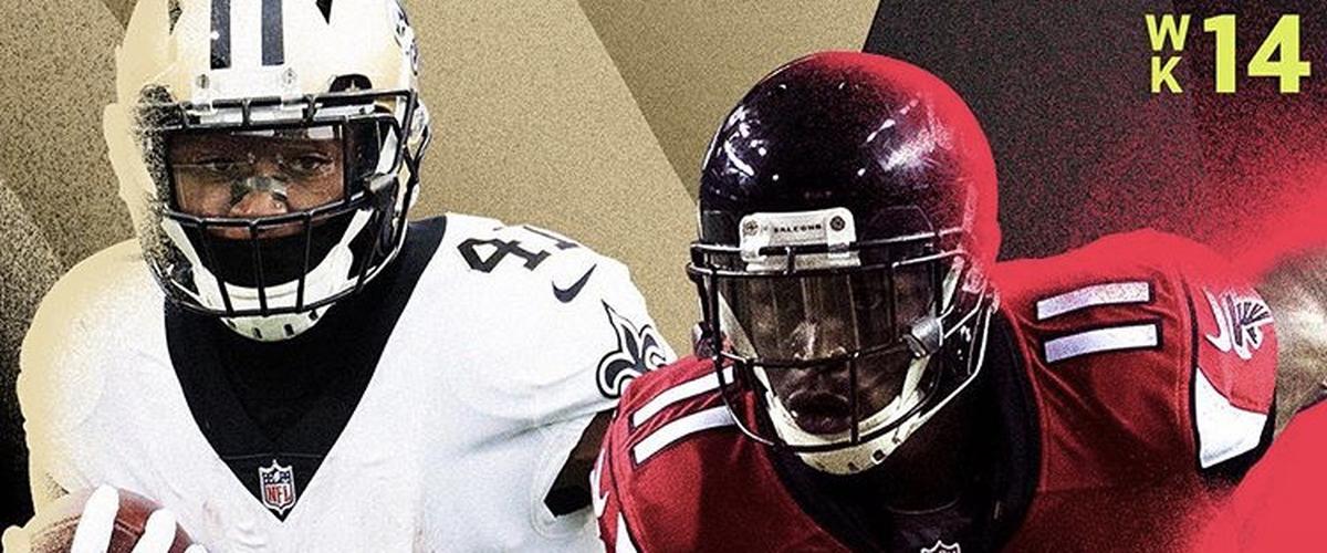 NFL Thursday Night Football Saints vs Falcons