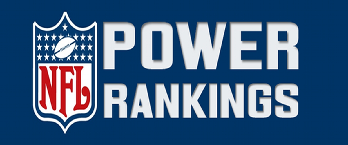 Final 2017 NFL Power Rankings!