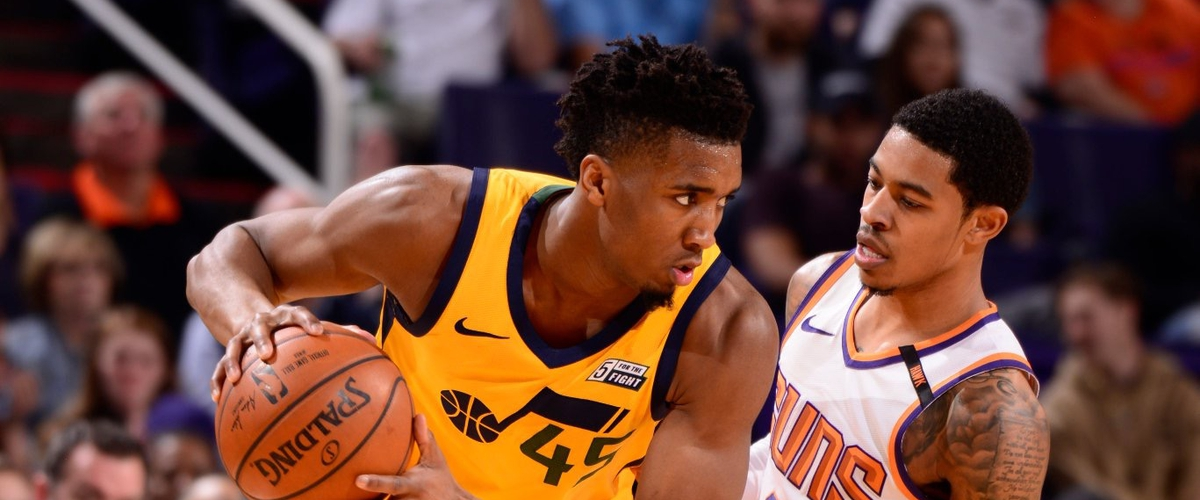 NBA Player of the Night Donovan Mitchell