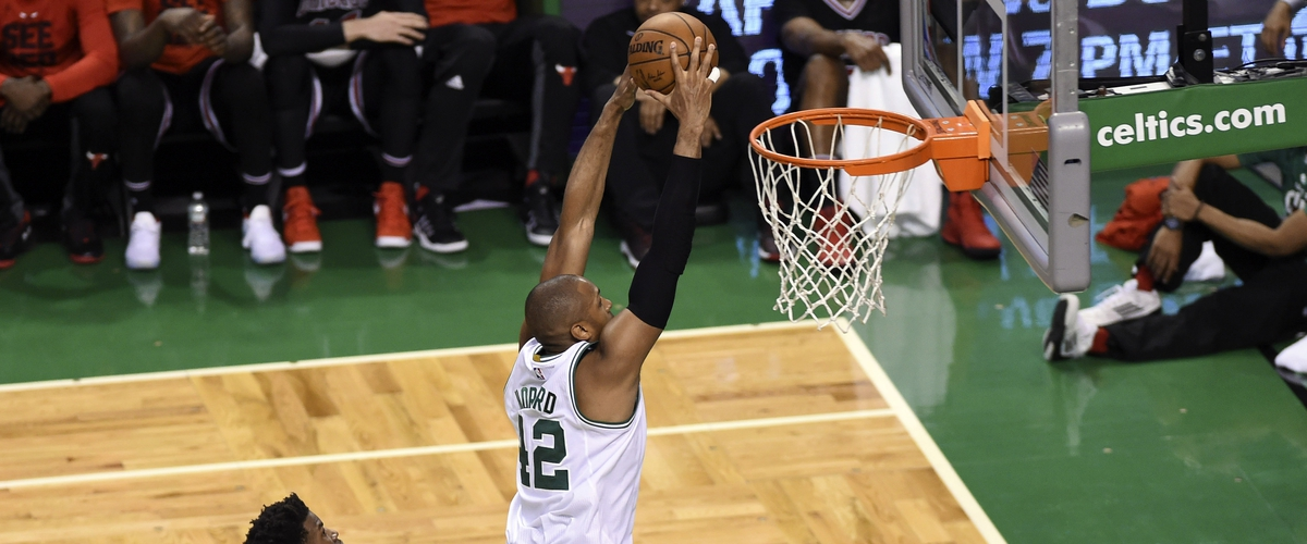 Al Horford was the difference maker   down the stretch in the Celtics' Game 5 win over the Bulls