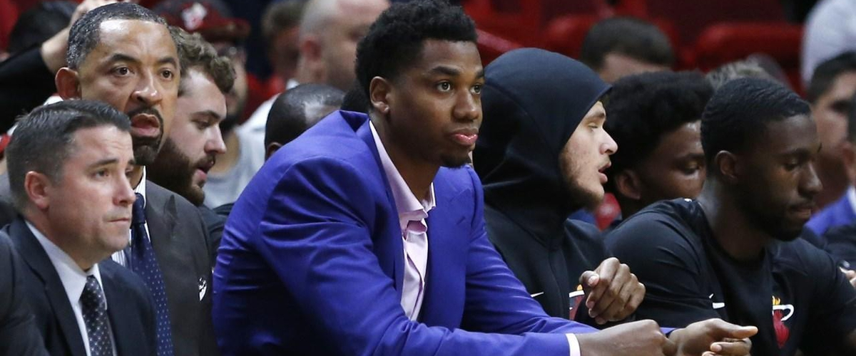 Hassan Whiteside concerned about Knee Injury