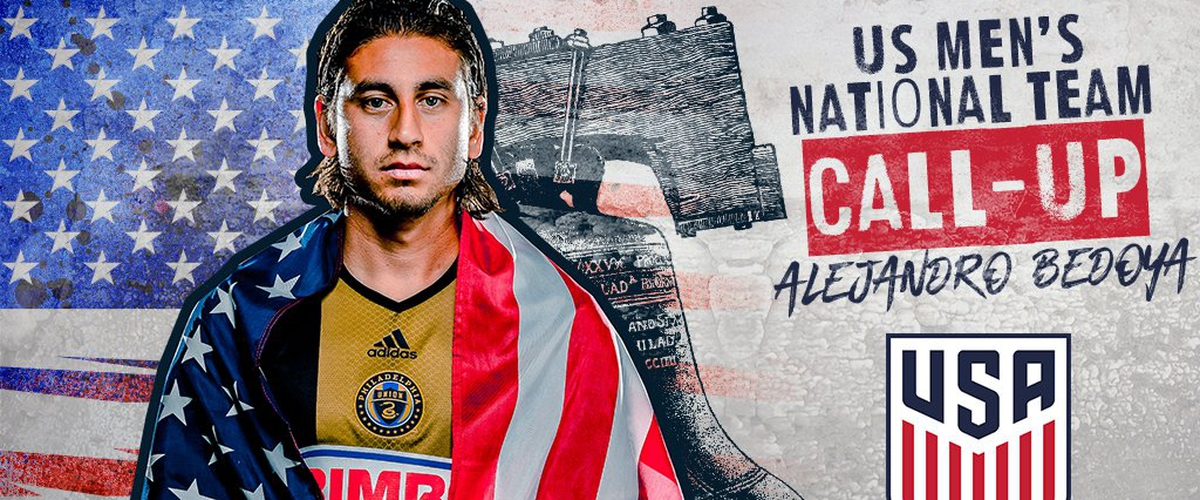 Philadelphia Union Alejandro Bedoya Called up to USMNT