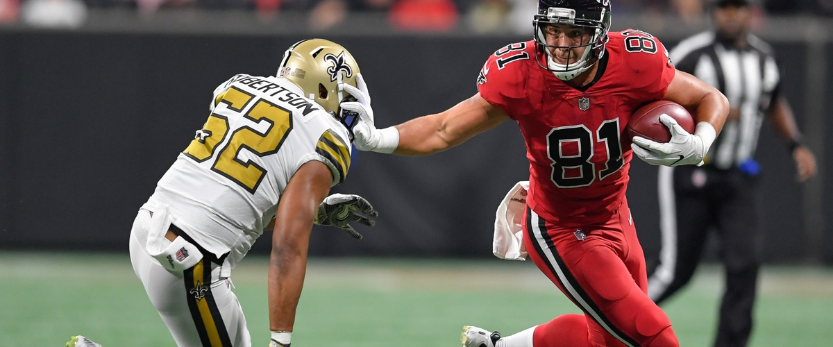 Falcons Interception Late Seals Victory over Saints