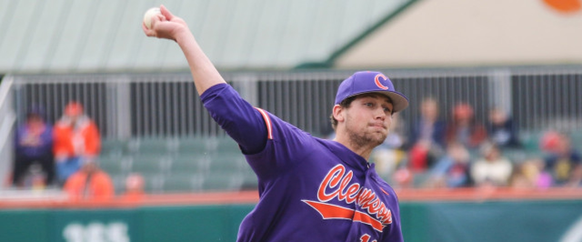 Brooks Crawford - RHP - Junior - Clemson