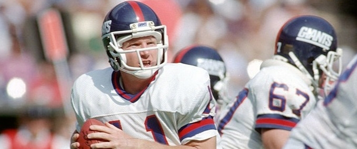 NFL Top 10 500-Yard Passing Games: No. 10 Phil Simms (513 yards vs. Bengals, 10-13-1985)