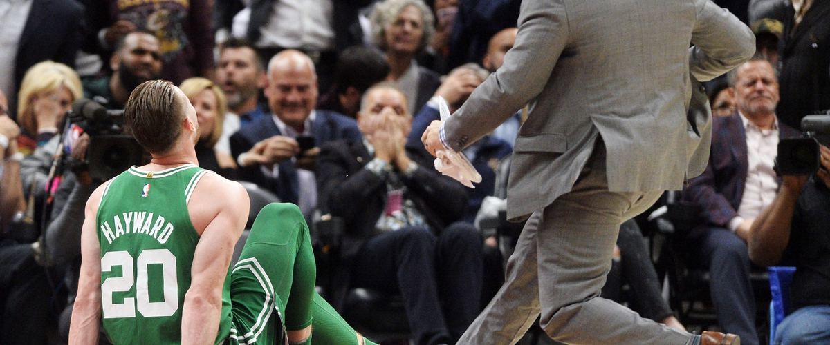 How Hayward's injury impacts the East