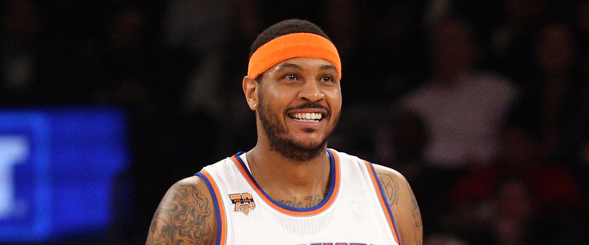 Why hasn't Carmelo Anthony been traded to the Rockets yet?