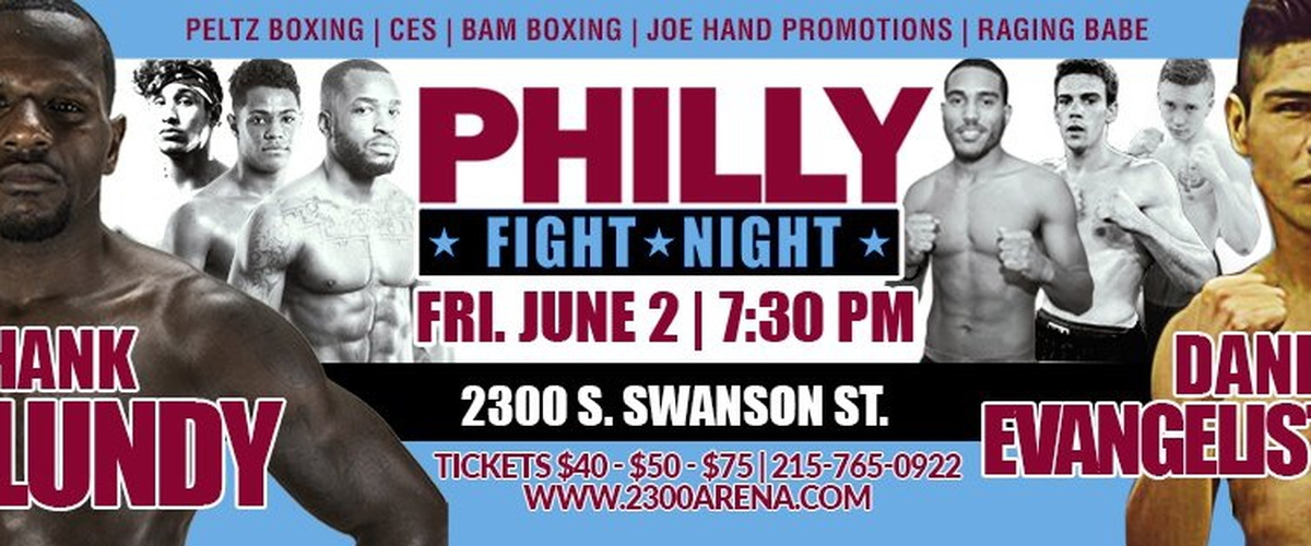 Hank Lundy Takes Apart Daniel Evangelista in Philly Fight Night