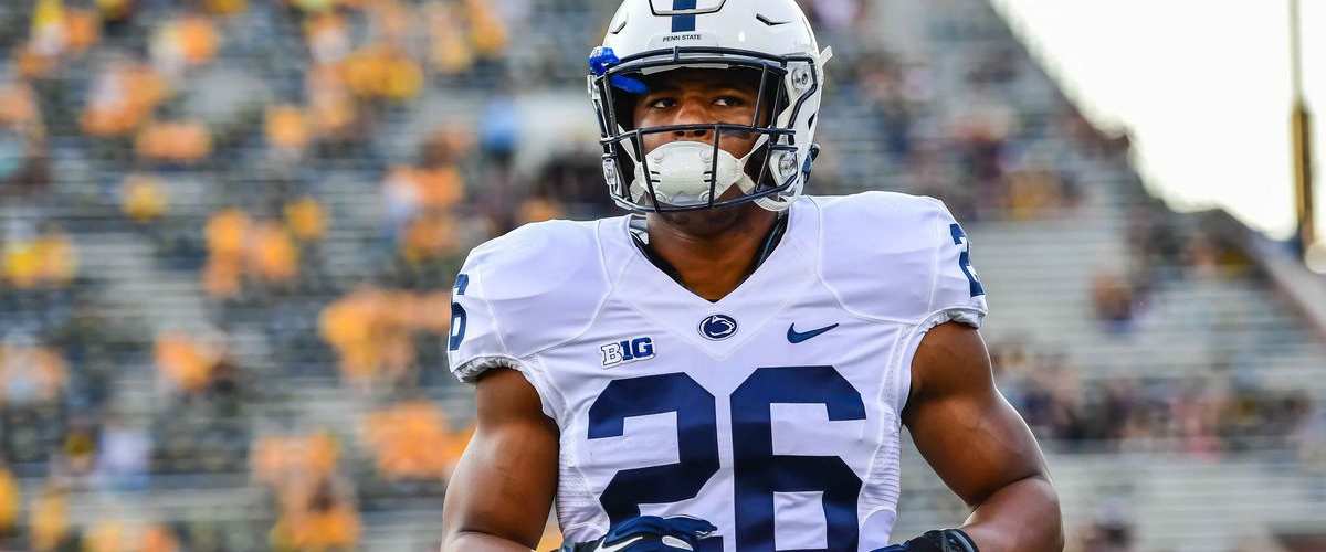 Saquon puts his bid in for the #1 pick, sets the combine on fire!