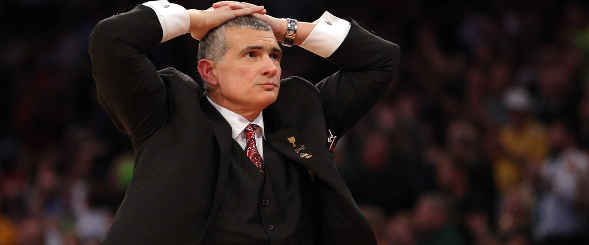 Frank Martin Gets A Heckuva Question