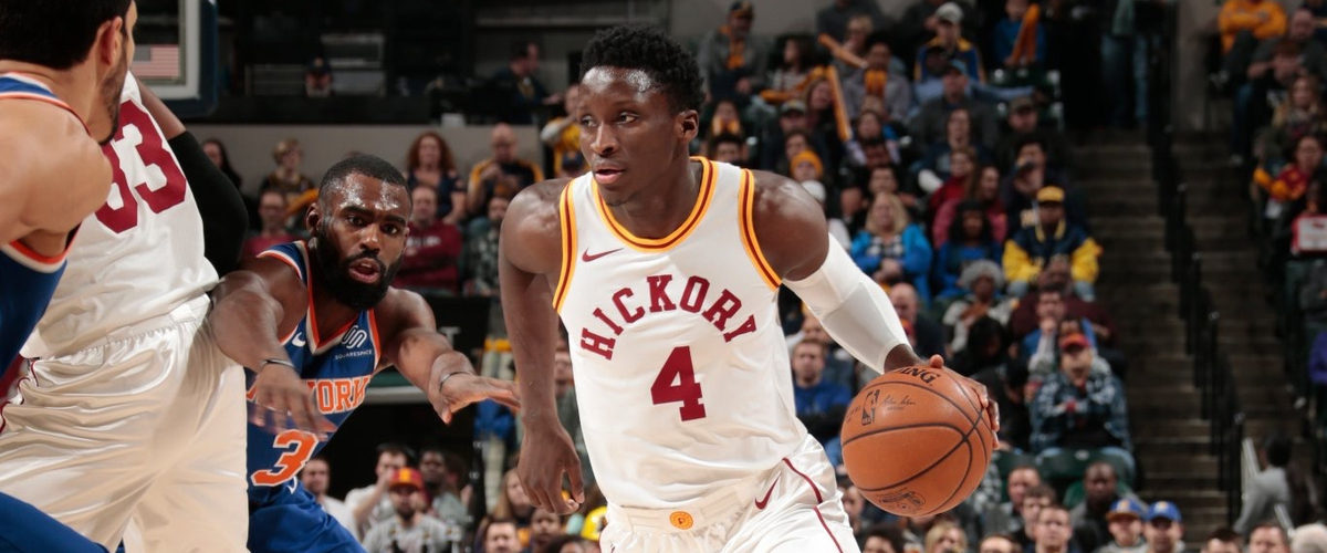 NBA Player of the Night Victor Oladipo