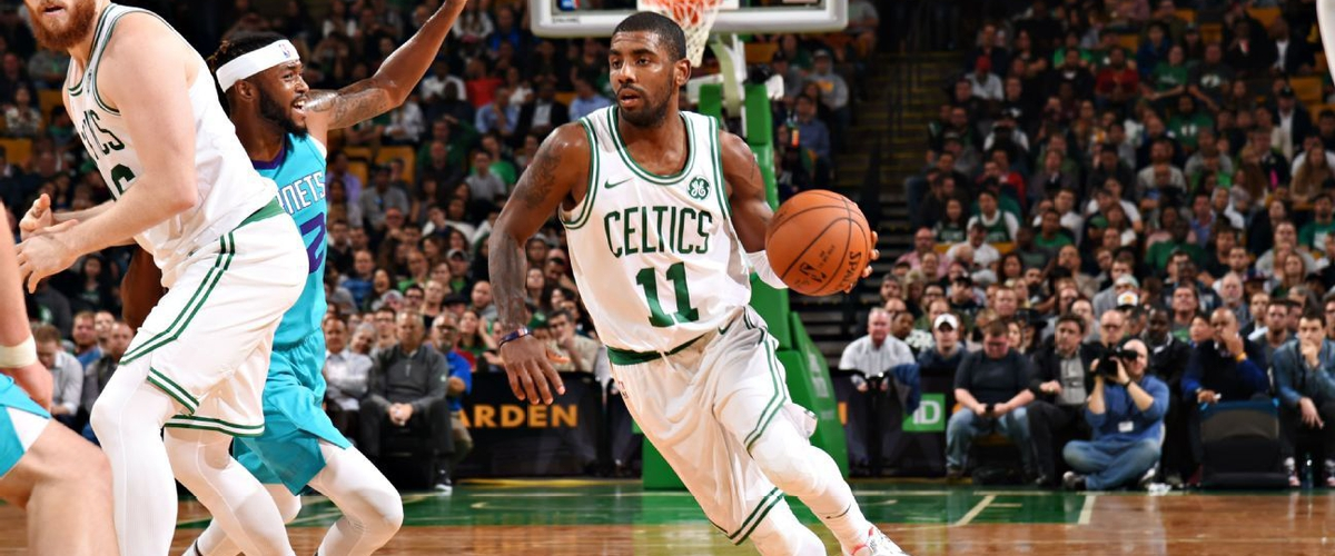 Under pressure - Kyrie Irving, Boston Celtics