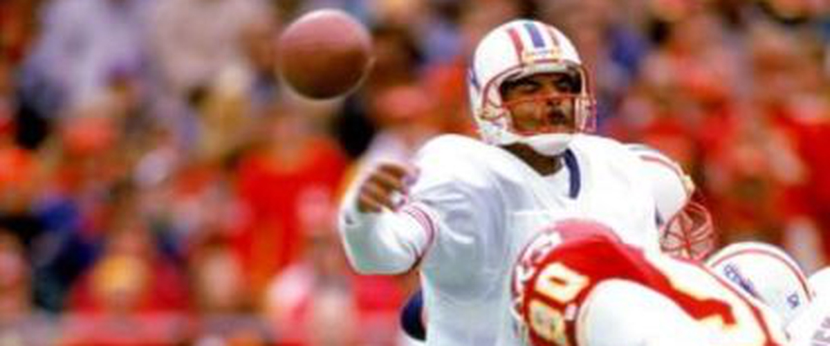 NFL Top 10 500-Yard Passing Games: No. 7 Warren Moon (527 Yards vs. Chiefs, 12-16-1990)