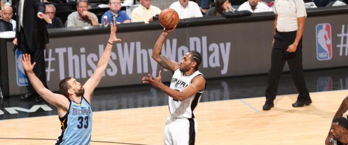 Kawhi-Etly the Spurs Are Looking To Sweep The Grizzlies