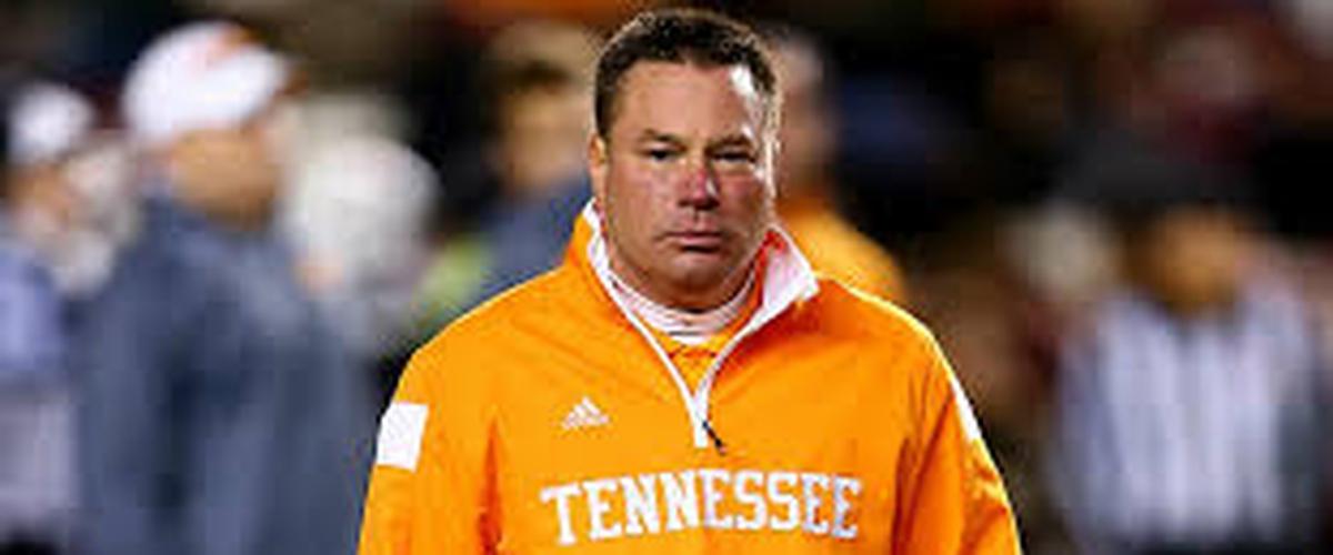 Butch Jones Fired