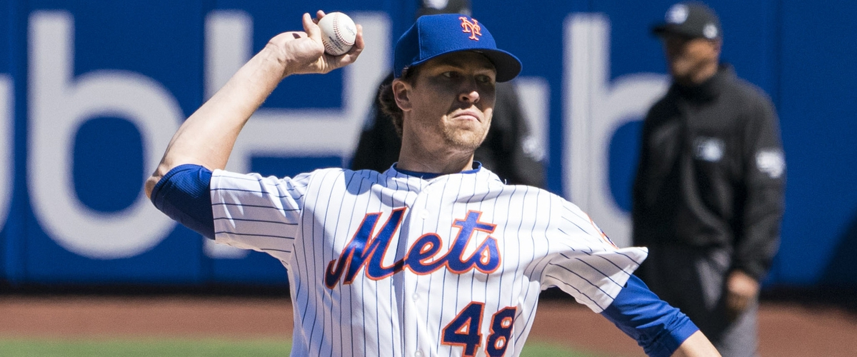 DeGrom, Mets Win Game 2 6-2 Over Cards
