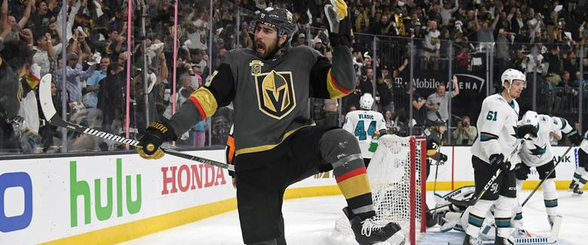 March On! Golden Knights Slay Sharks, Continue Historic Inaugural Season