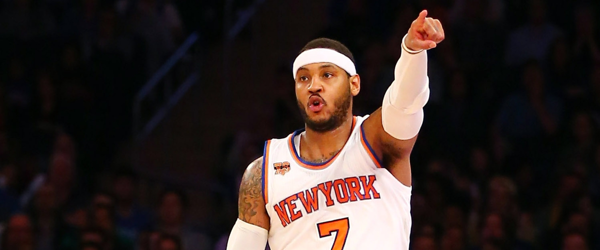 Carmelo Anthony has waived his no-trade clause for 2 teams