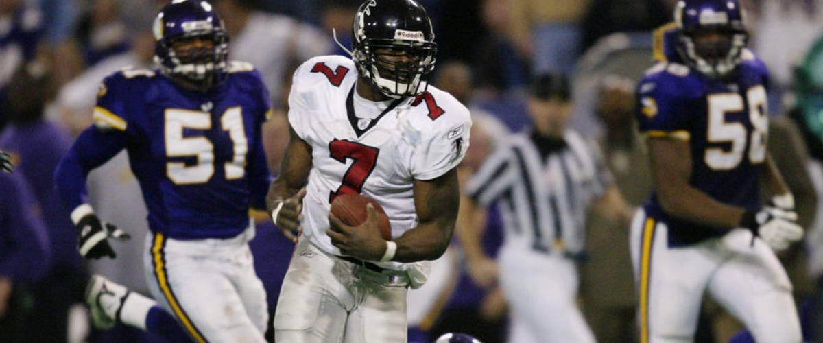 Falcons Throwback: Michael Vick thrilling 46-yard OT run vs Minnesota