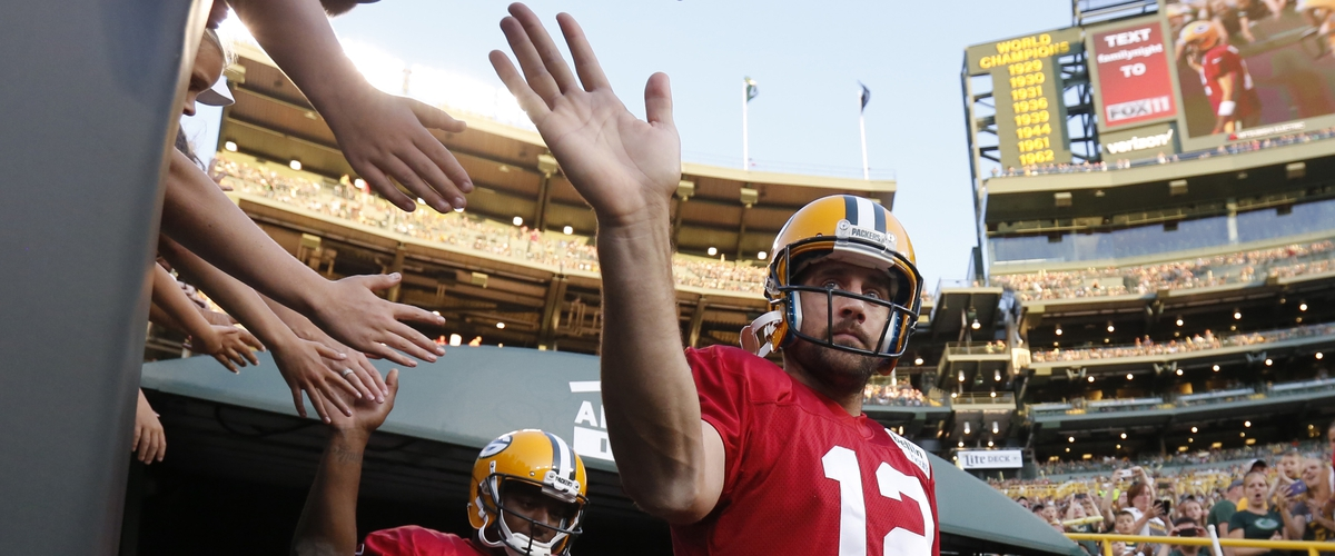 The Packers' biggest problem is..... Aaron Rodgers?