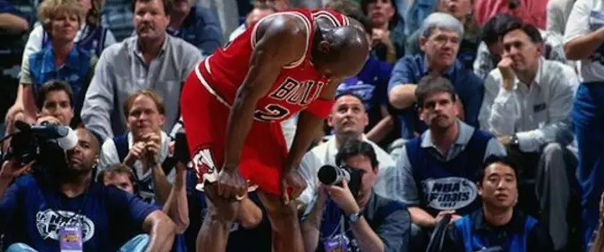 "20th Anniversary of ""The Flu Game"""