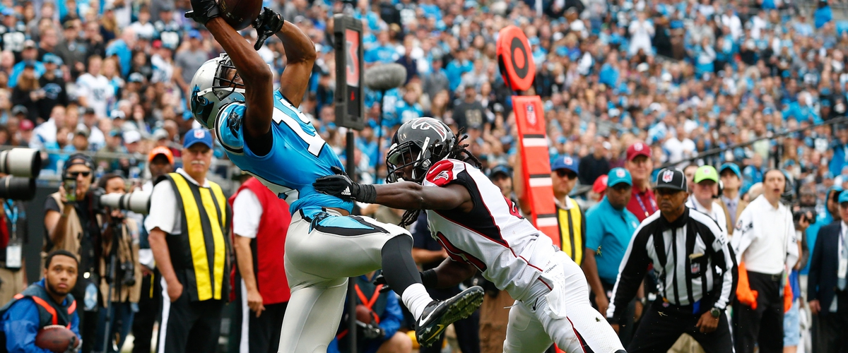 Panthers Hang On Against Falcons