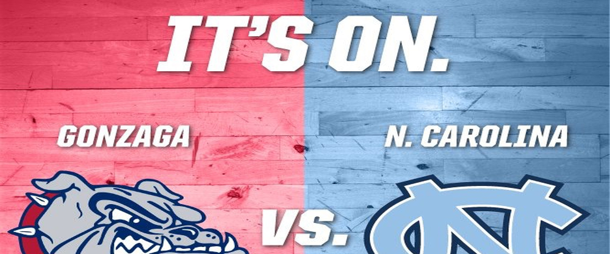 National Championship Gonzaga vs North Carolina