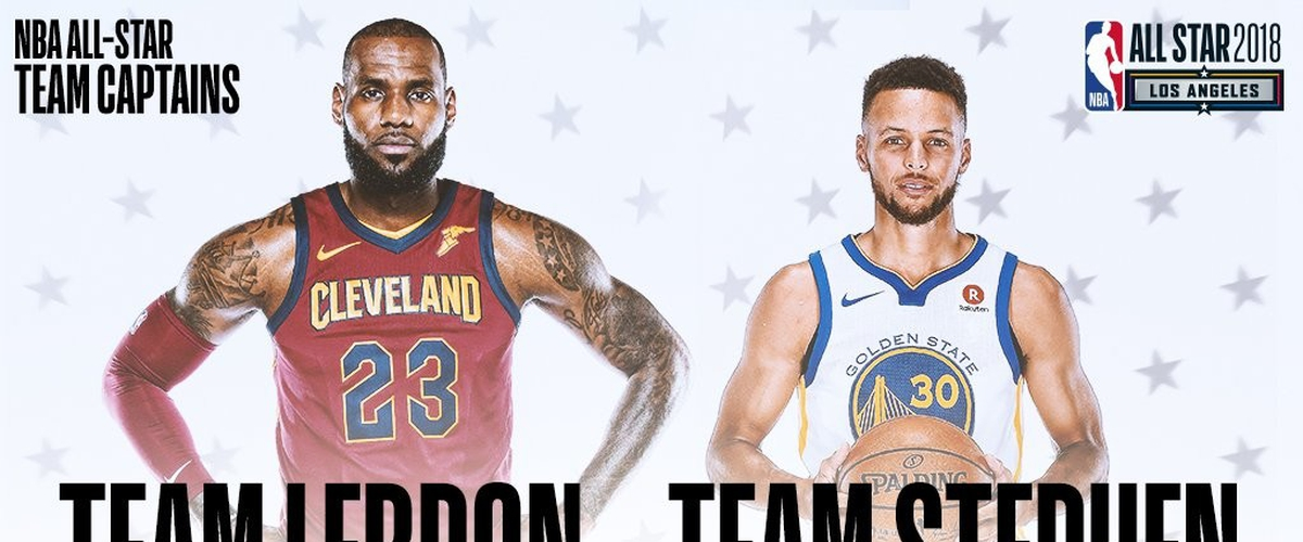 Team LeBron vs. Team Stephen