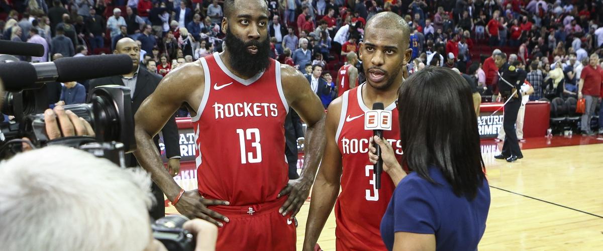 Rockets Beat Warriors Again