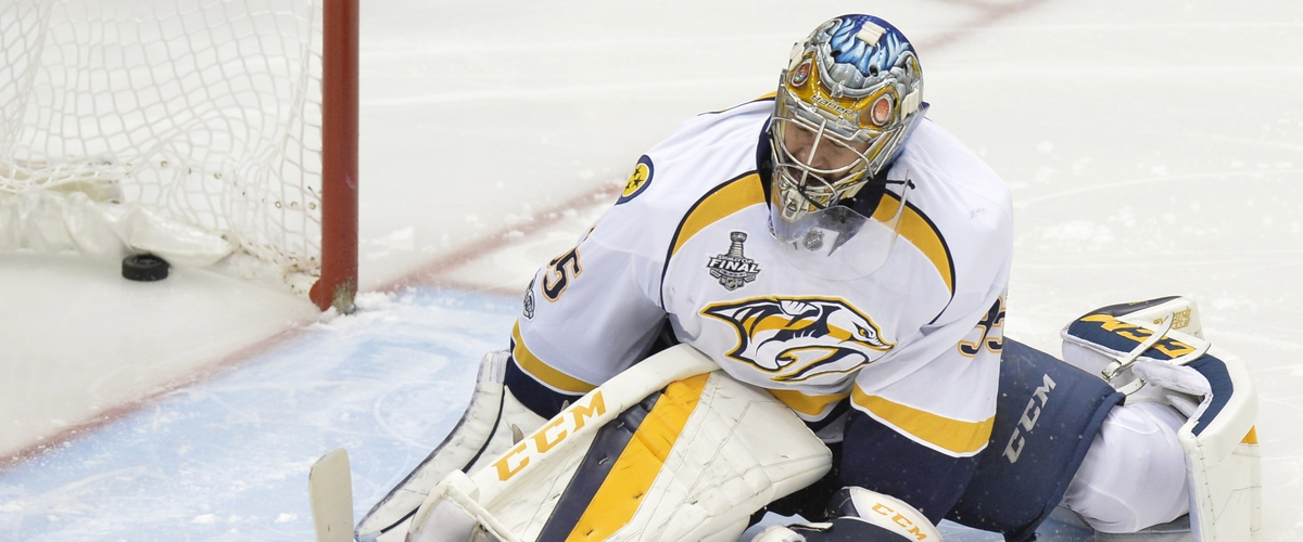 The Nashville Predators Success All Hinges on the Play of Pekka Rinne