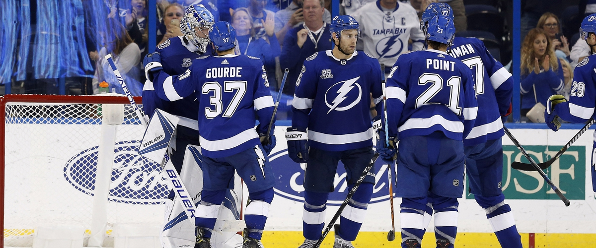 Lightning hitting their stride early in the season