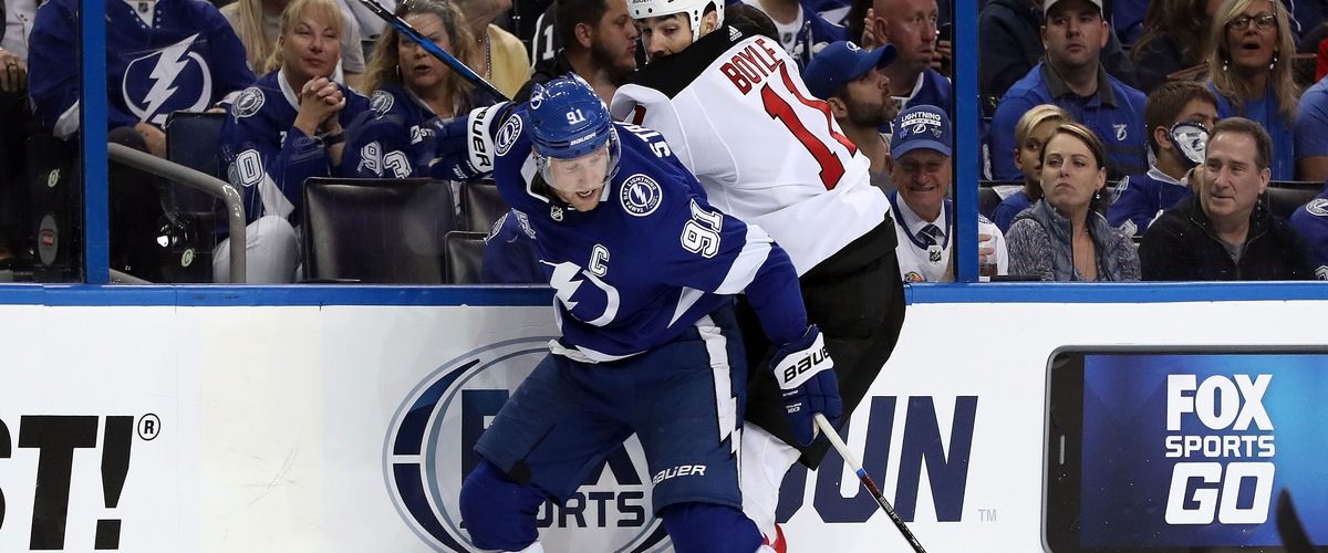 Lightning Avoid Letdown in Game 1 against Devils
