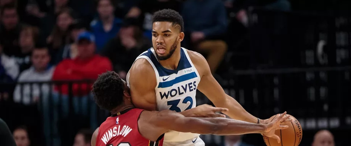 Justise Winslow shuts down Karl-Anthony Towns in Heat victory