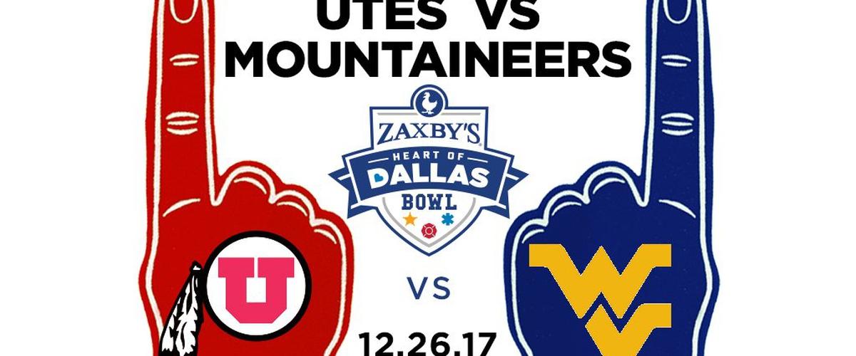 Heart of Dallas Bowl Preview: West Virginia vs. Utah