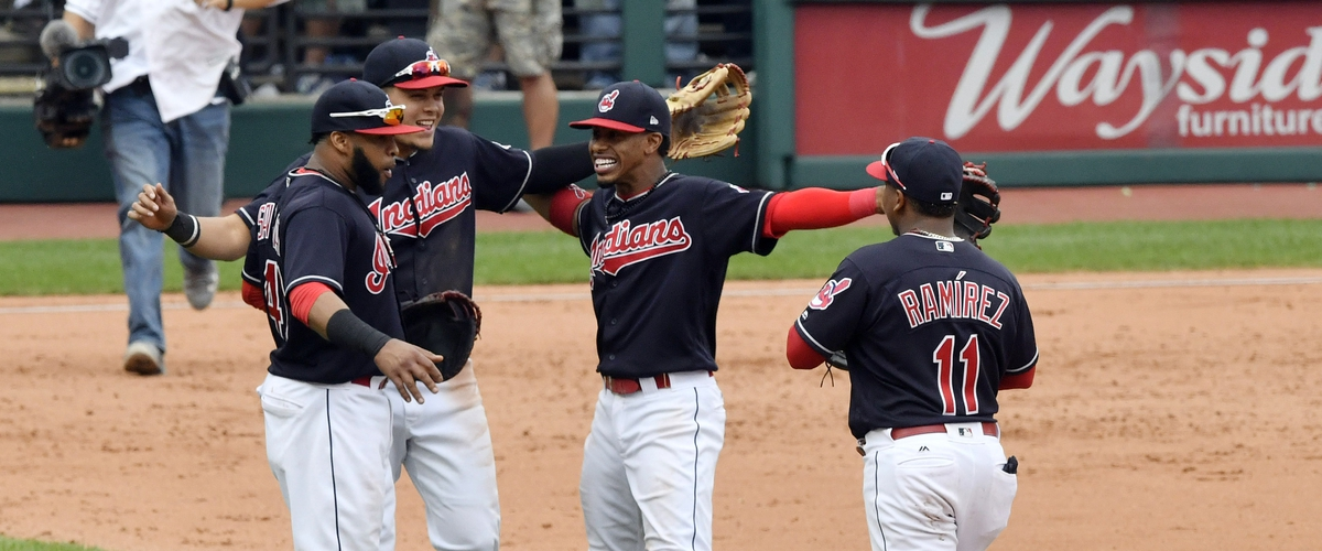 Indians break American League record with 21 consecutive wins