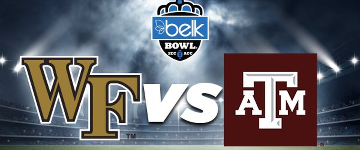 The Obstructed Belk Bowl Preview: Wake Forest vs. Texas A&M