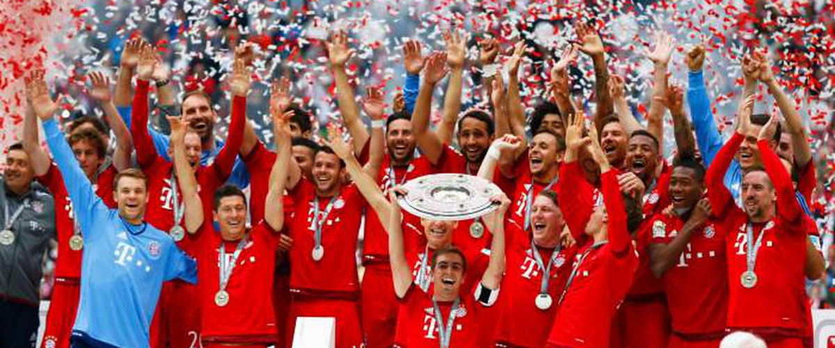 Bayern Munich wins 5th consecutive Bundesliga title