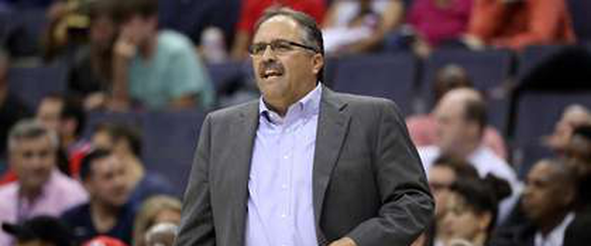 Detroit Pistons part ways with Stan Van Gundy after four years.
