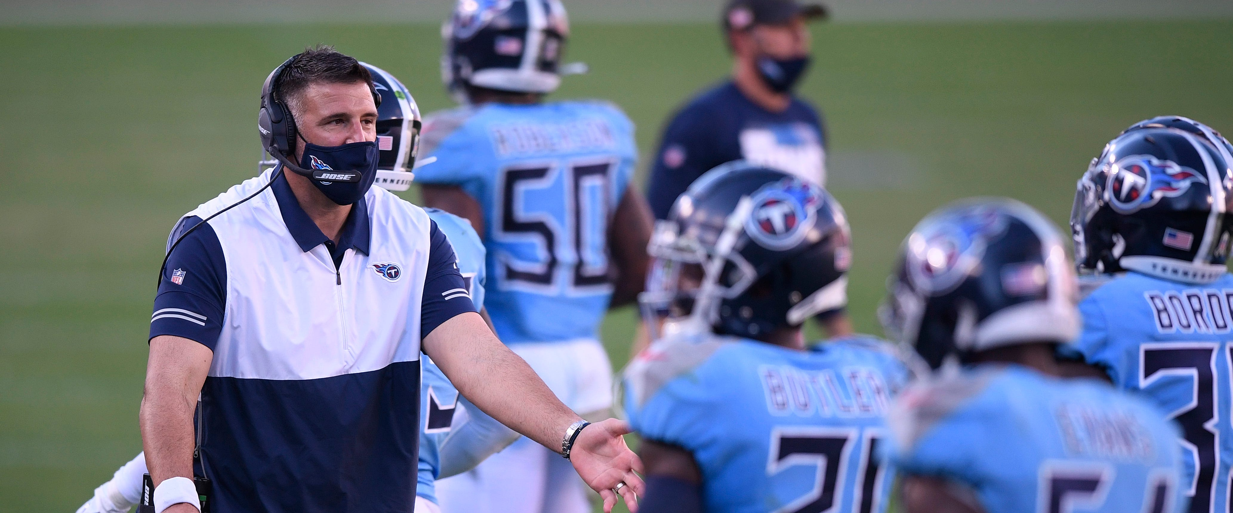 Missing key players, the Titans prepare for the Browns
