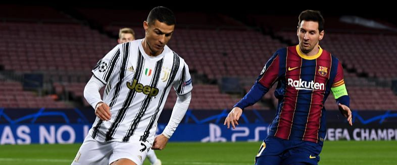 Cristiano Ronaldo and Juventus dominate Barca and Lionel Messi