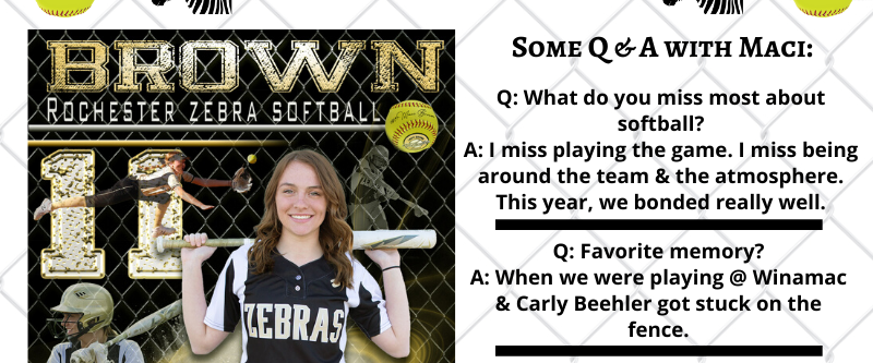 The Vault: OaklandU Softball's Maci Brown Could Also Fill It Up On Hardwood
