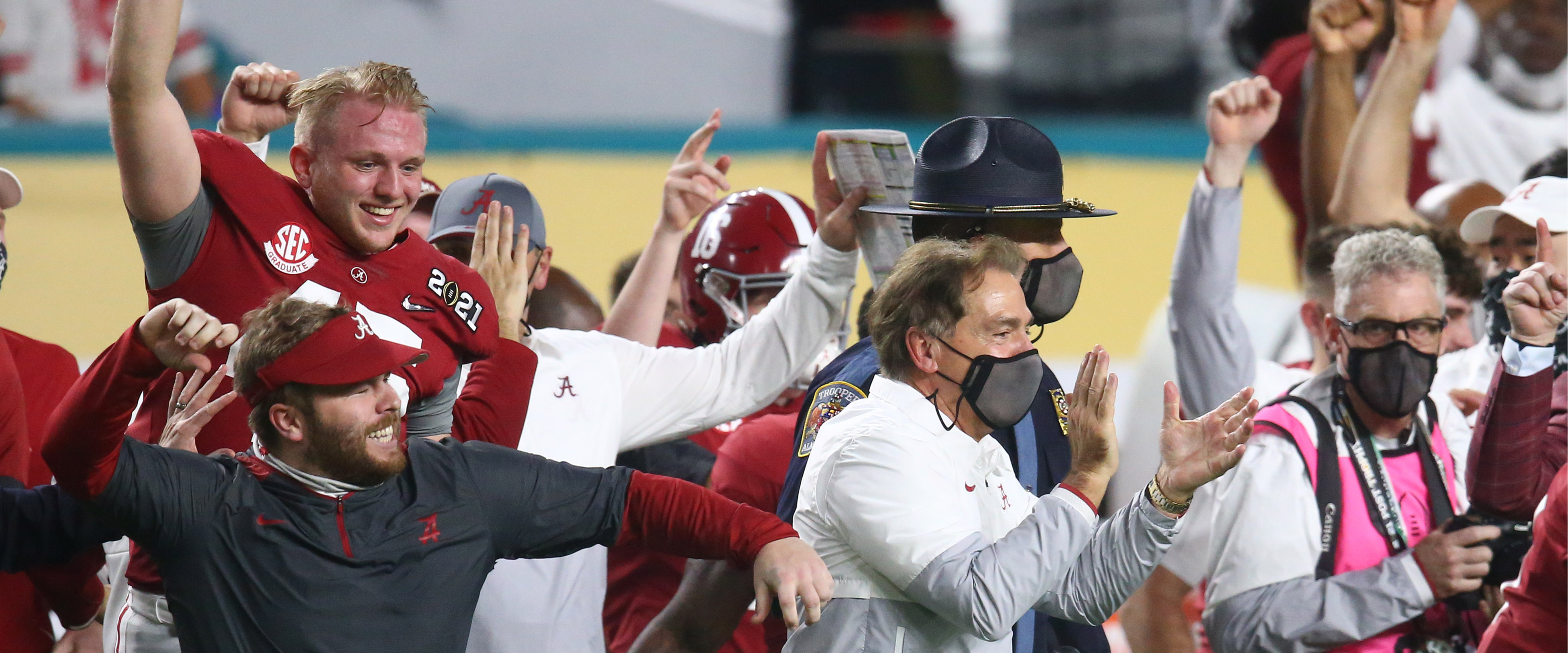 Amidst a global pandemic, Nick Saban solidified his legacy