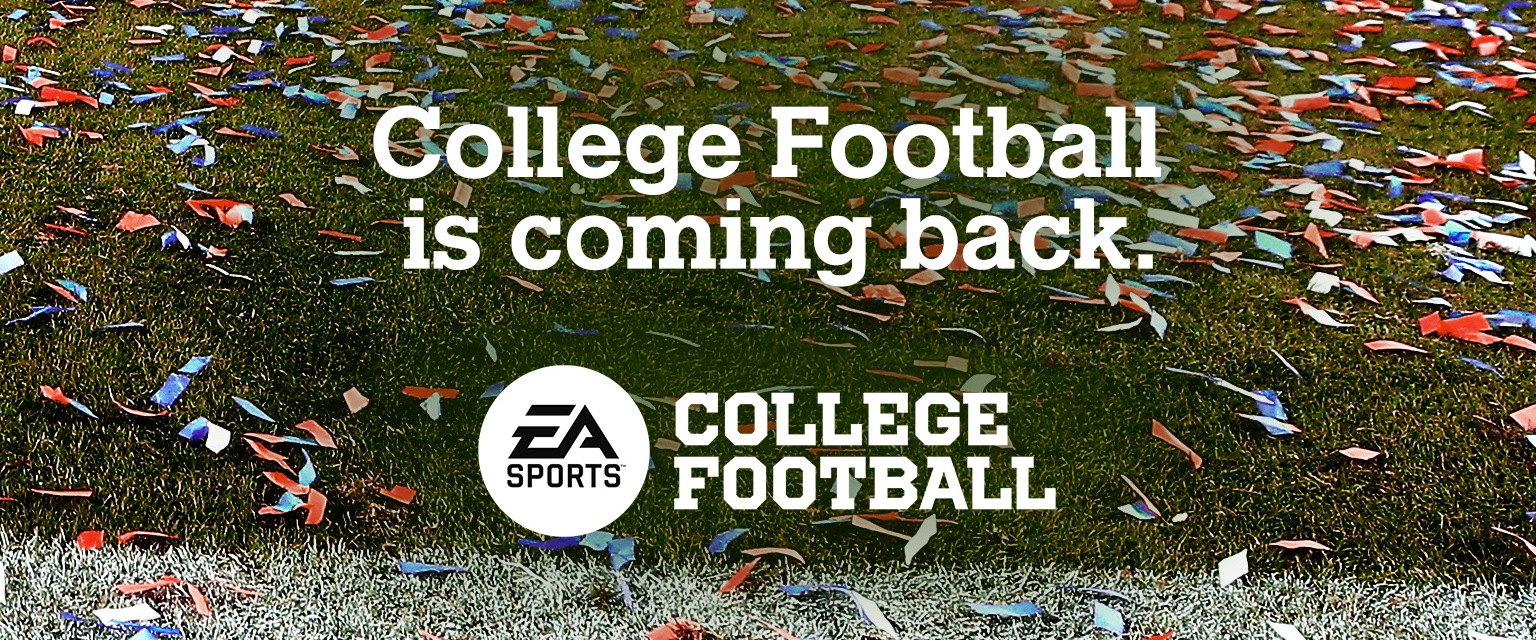 EA Sports is reviving its NCAA Football video game series!