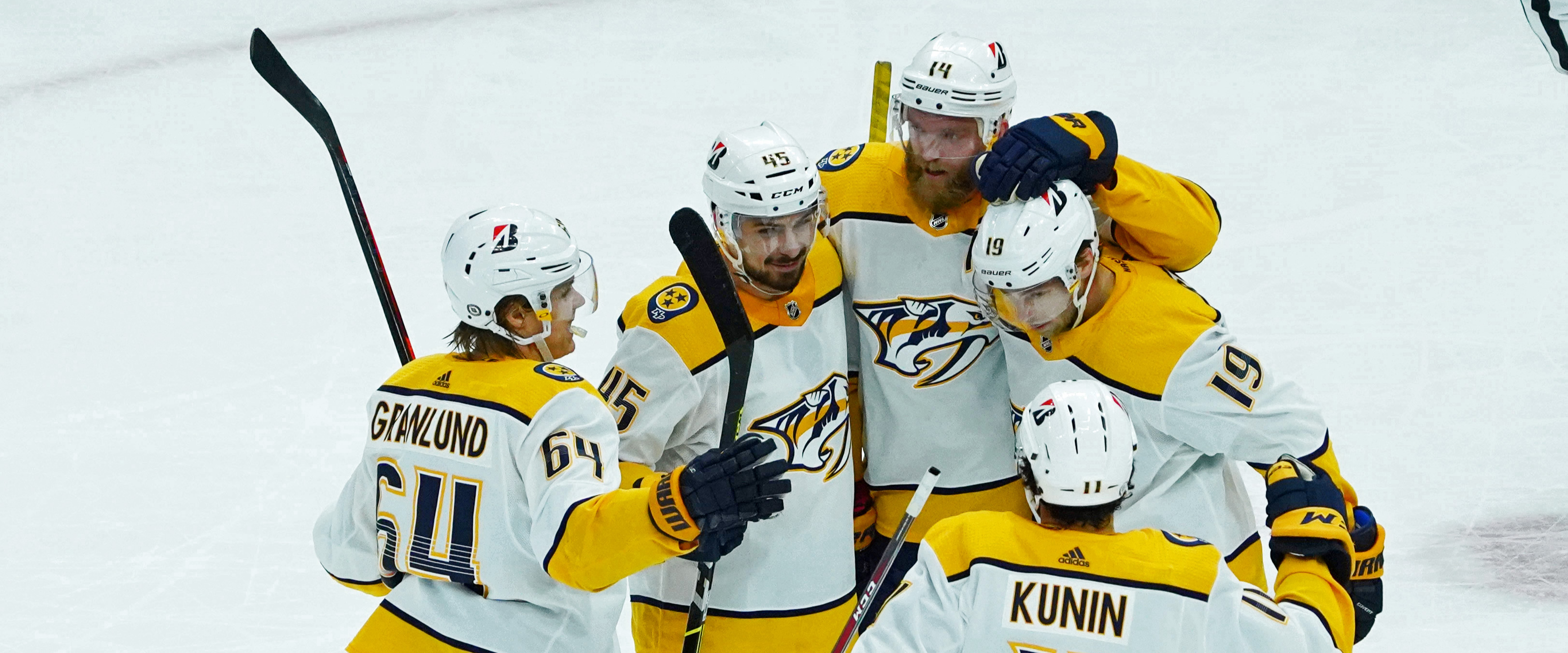 Predators win their fifth in a row!