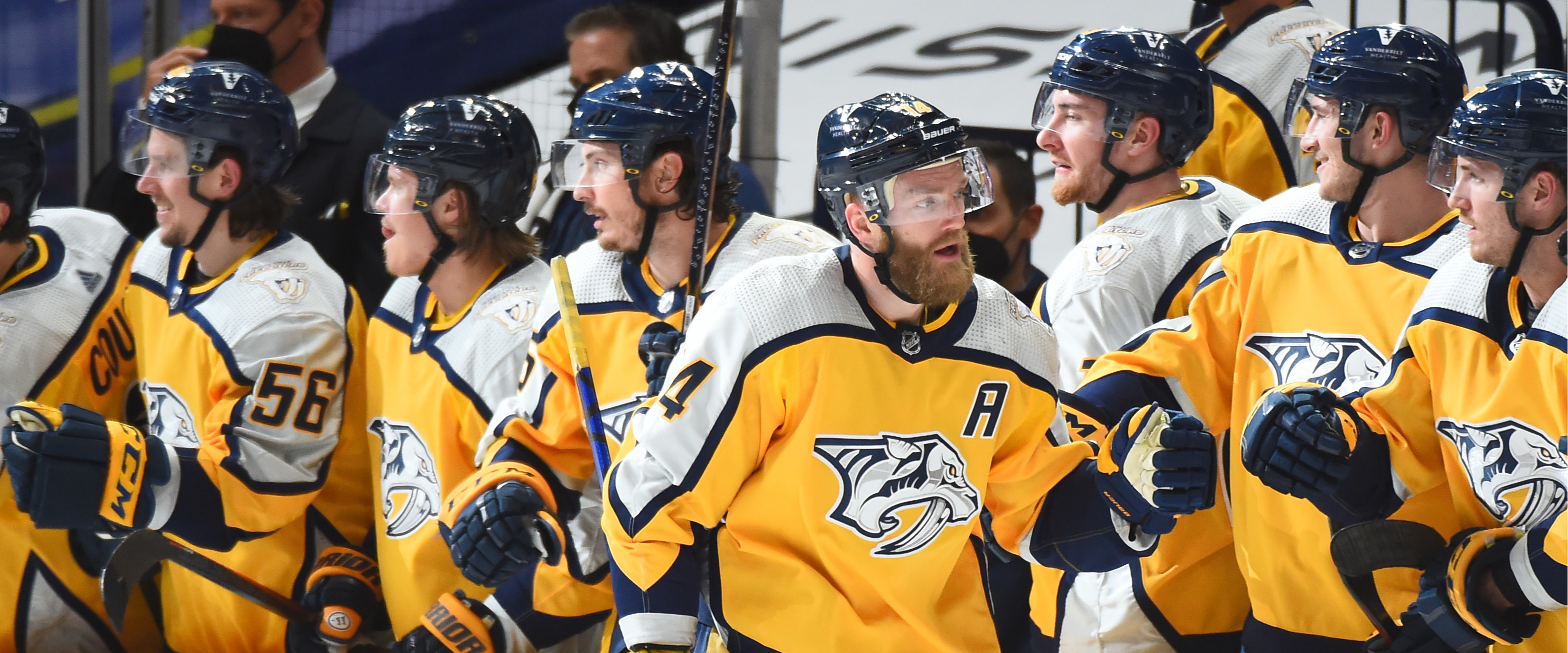 Predators are enroute to a first-round playoff exit