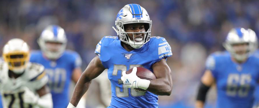 Detroit Lions part ways with Kerryon Johnson after three seasons