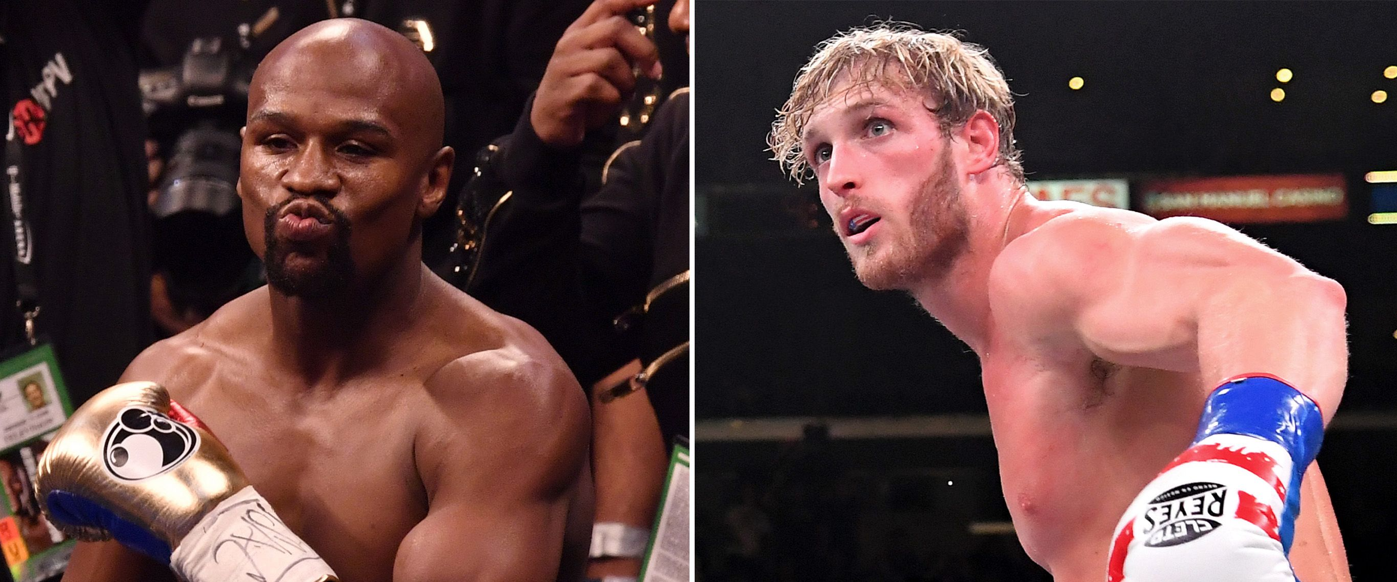 Floyd Mayweather and Jake Paul involved in altercation at press day in Miami!