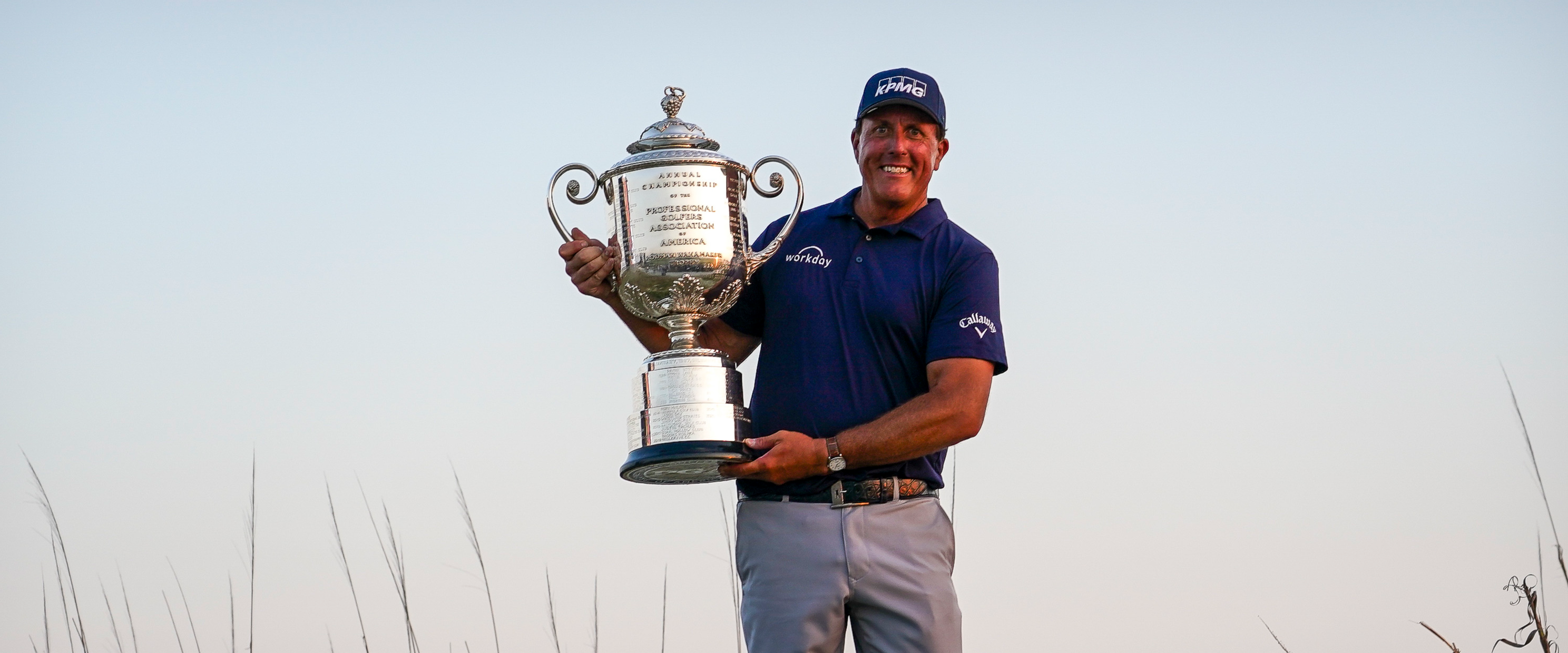 The oldest major champion in PGA Tour history is the lefty, Phil Mickelson