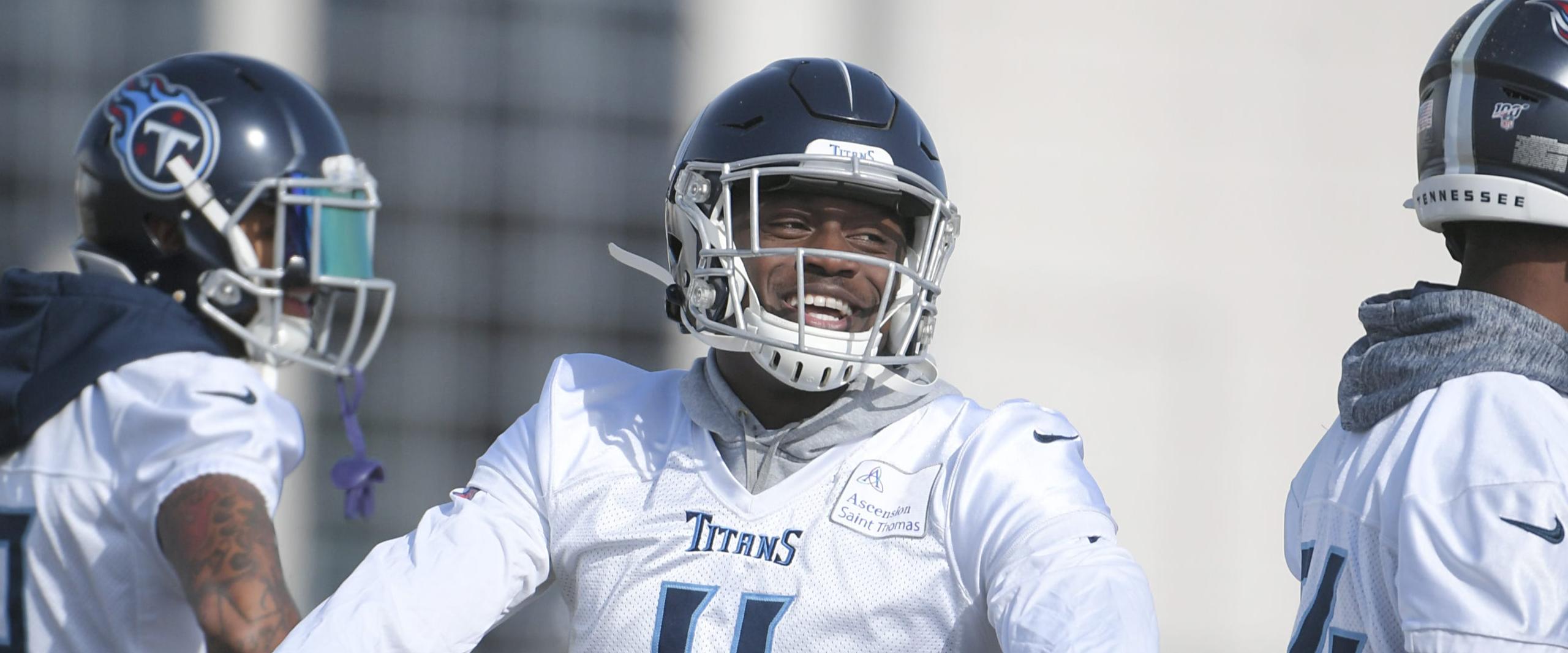 Titans: AJ Brown ramps up his efforts recruiting Julio Jones