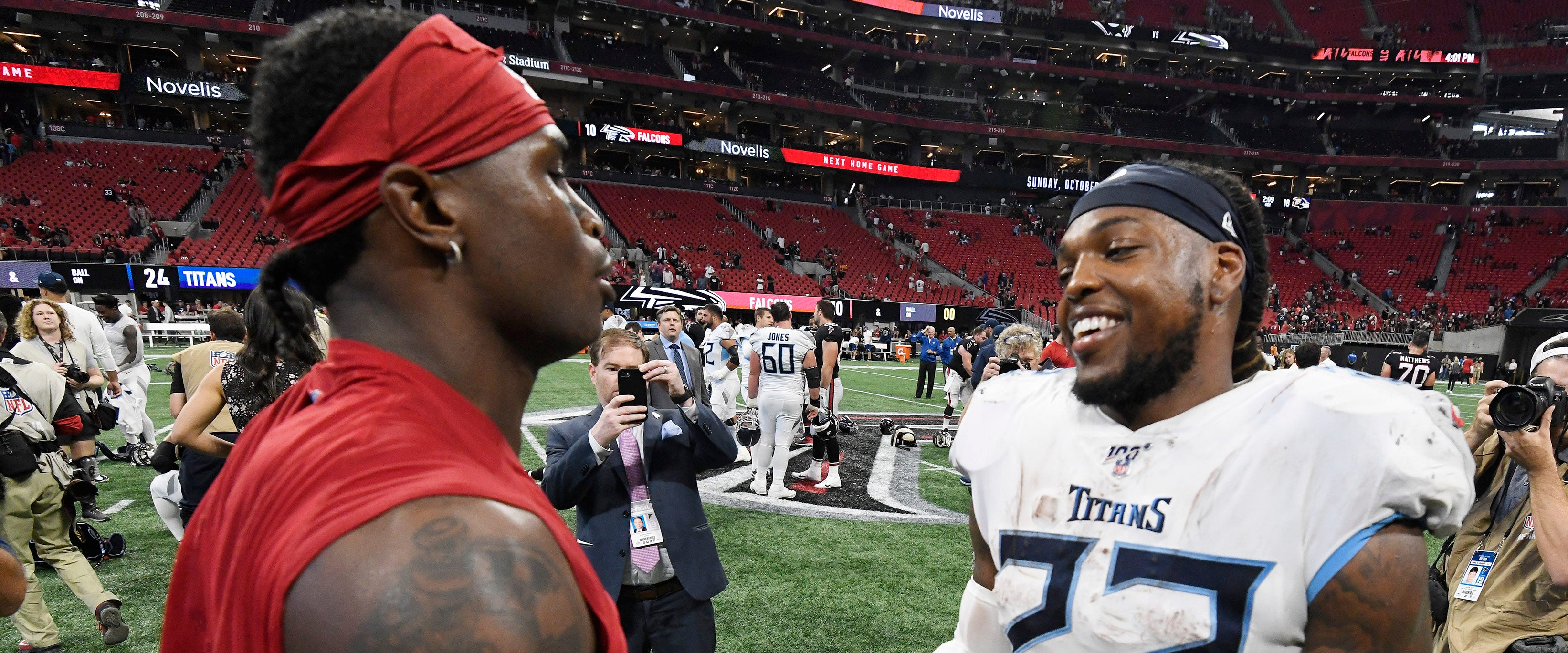 The Titans actually did it! Julio Jones is coming to Nashville!